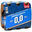 Cerveza 0,0% alcohol Pack 6 botellas 25 cl DIA