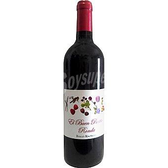 EL BUEN PUNTITO Vino tinto de Ronda botella 75 cl