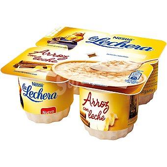 LALECHERA Arroz con leche Pack 4 unidades 115 g
