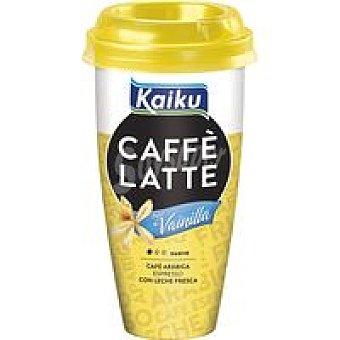 Kaiku Caffe Latte vainilla Vaso 230 ml