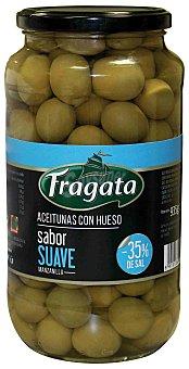 Fragata Aceitunas verdes manzanilla con hueso sabor suave 595 g