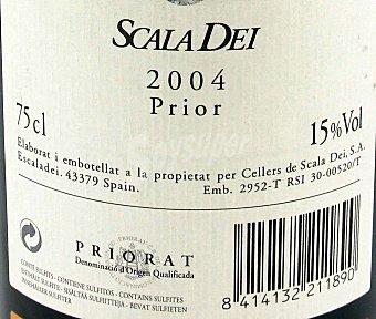 Scala Dei Vino Tinto Crianza del Priorato Botella 75 Centilitros
