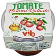 Tomate natural rallado con aceite de oliva virgen extra y sal sin gluten Tarrina 250 g Vibs