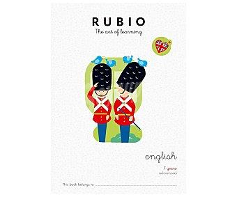 Rubio Cuadernillo English 7 years advanced. Género: infantil, actividades, inglés. Editorial Rubio
