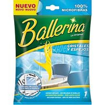 Ballerina Bayeta limpia cristales Pack 1 unid