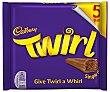 Barritas de chocolate con leche twirl 8 uds. x 17 g Cadbury