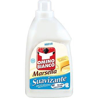 Omino Bianco Suavizante concentrado al jabón de Marsella 40 dosis botella 1 l 40 dosis