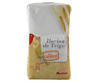Auchan Harina de trigo tipo candeal 1 kilogramo