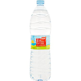 Aliada Agua mineral natural Pack 6 botellas x 1.5 l