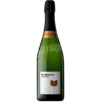 EL MIRACLE Cava brut Requena Botella 75 cl