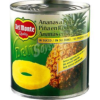 Del Monte Piña en su jugo lata 432 g Lata 432 g