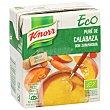 Puré de calabaza con zanahoria ecológica envase 300 ml envase 300 ml Knorr