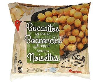 Auchan Bocaditos de patata ultracongelados 500 gramos