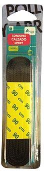Bosque Verde Cordón calzado sport negro 2 unidades