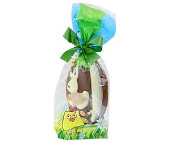 Vendome Conejo de pascua de chocolate con leche y blanco 200g