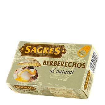 Sagres Berberechos al natural +75 OL-120 63 GRS