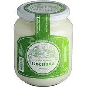 GOENAGA Yogur desnatado natural artesano Tarro 720 g