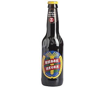Ambar Cerveza negra Botella de 33 centilítros