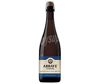 ABBAYE D´AULNE Cerveza belga de importación botella de 75 centilitros