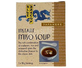 Blue Dragón Sopa de miso 90 gramos