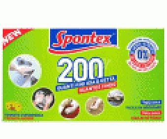 Spontex Guantes finos multiusos 200 UDS
