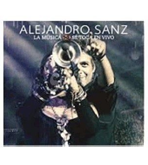 Alejandro La música no se toca en vivo ( Sanz) CD