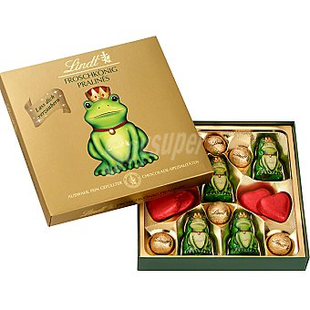LINDT REY RANA Mini chocolatinas Estuche 100 g