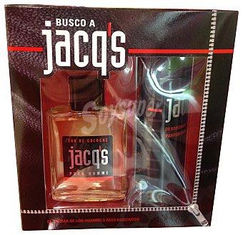 Jacq's Lote hombre colonia 100 ml + desodorante 200 ml 2 unidades