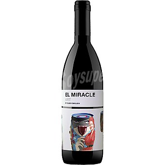 EL MIRACLE Art vino tinto monastrel D.O. Alicante Botella 75 cl