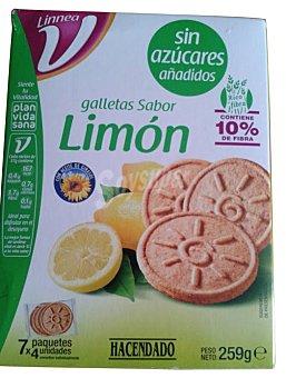 Hacendado Galleta sabor limon (linnea V) Caja 259 g