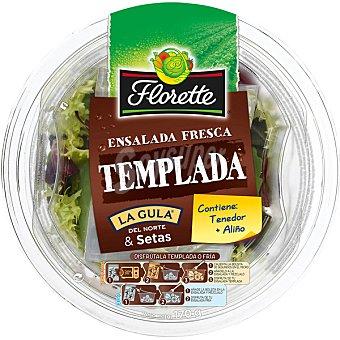 Florette Ensalada Completa Ensalada templada con gulas de La Gula del Norte y setas (contiene tenedor más aliño) 170 gramos