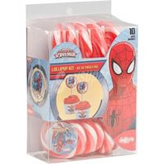 Spiderman Kit de piruletas 100 g