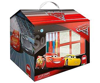 Cars Disney Maletín para colorear con los dibujos animados de tu película favorita con el personaje Rayo Mcqueen