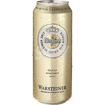 Warsteiner Cerveza alemana Pilsen Lata 50 cl