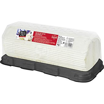 Soignon Queso de cabra rulo madurado  1 kg (peso aproximado pieza)