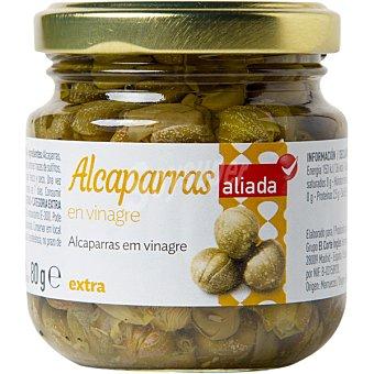 Aliada Alcaparras en vinagre Frasco 80 g neto escurrido