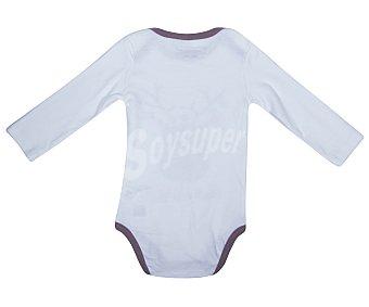 In Extenso Body de algodón de manga larga, blanco, talla 92