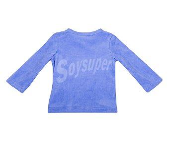 In Extenso Pijama de bebe de terciopelo, color azul, talla 104