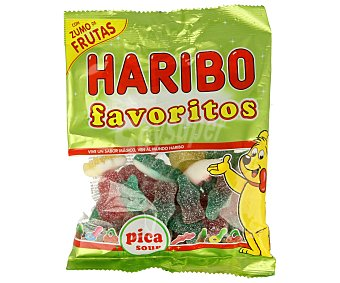 Haribo Surtido de gominolas Regaliz pica Bolsa 150 g