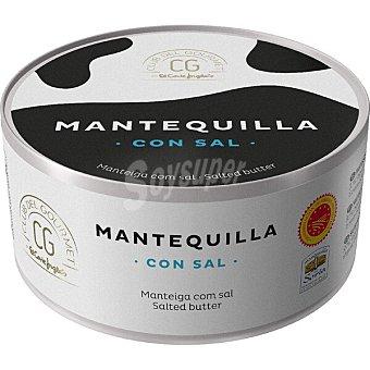 Club del gourmet Mantequilla con sal DOP Mantequilla de Soria Lata 250 g