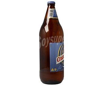 Cruzcampo Cerveza sin alcohol Botella de 1 litro