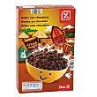 Cereales en bolas de maiz con chocolate paquete 500 gr Paquete 500 gr DIA