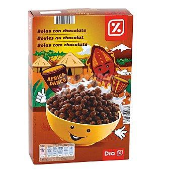 DIA Cereales en bolas de maiz con chocolate paquete 500 gr Paquete 500 gr