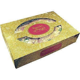 EL CORTE INGLES roscón de Reyes relleno de mazapán pieza 600 g