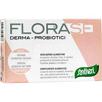 SANTIVERI FLORASE Derma Para el bienestar de la piel ápsulas envase 16 g 40 c