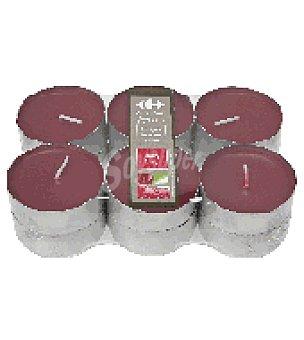 Rojo Maxi calientaplatos / berry envy Pack 12