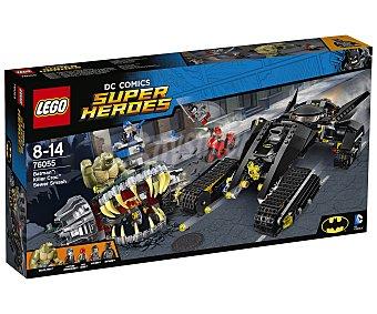 LEGO Juego de construcciones con 759 piezas Batman: Golpe en las alcantarillas de Killer Croc, Dc Cómics Súper Héroes 76055 1 unidad