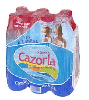 Sierra Cazorla Agua mineral Pack 6x50 cl