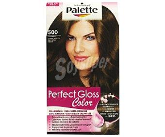 Palette Schwarzkopf Tinte color Castaño Claro Mocca Gloss Color, sin amoníaco Nº 500 1 Unidad