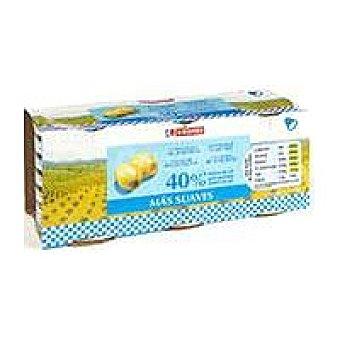 Eroski Aceitunas rellenas suaves Pack 3x50 g